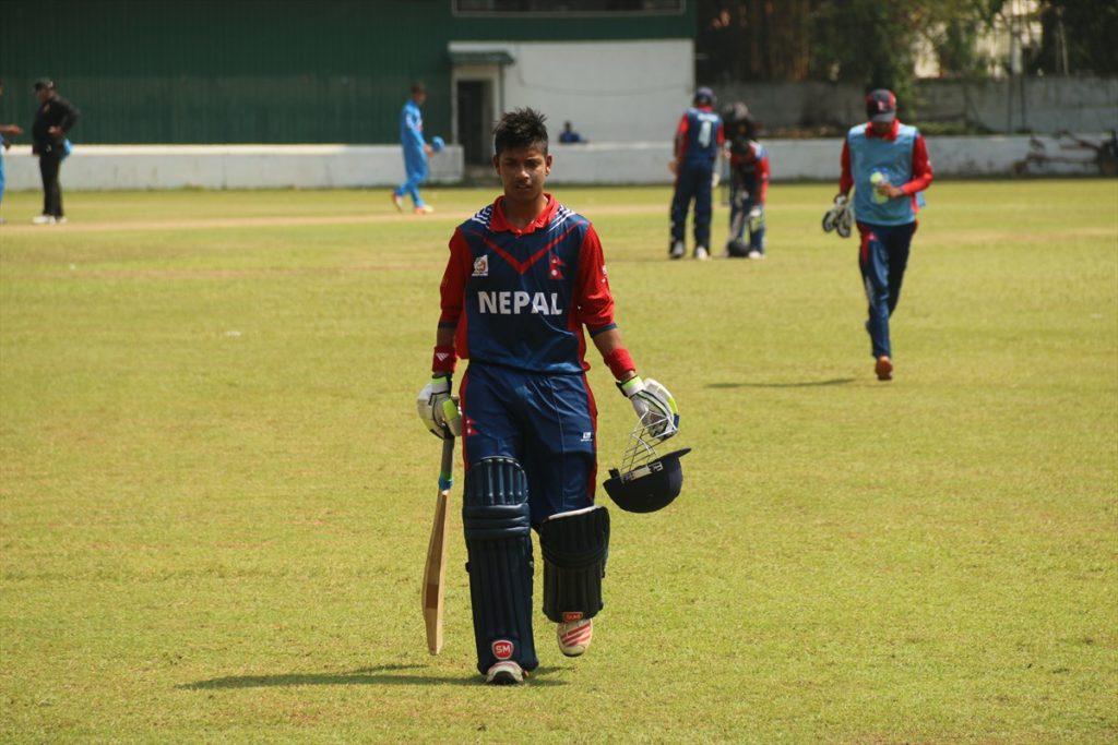 Nepal vs India, u 19 asia cup