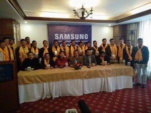 IMS mobile Football Team Nepal