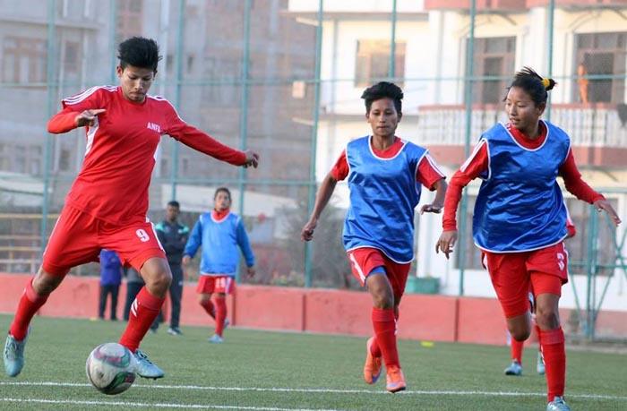 Nepal Women Team Football