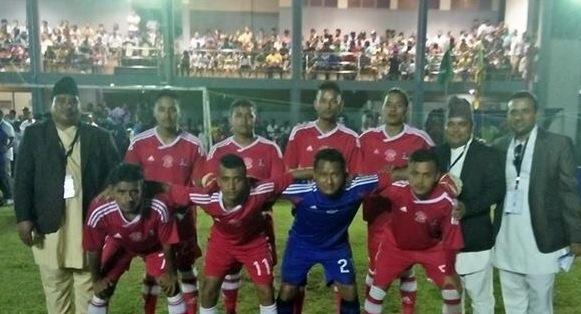 दक्षिण एसियाली फुटसल च्याम्पियनसिपमा नेपाल दोस्रो