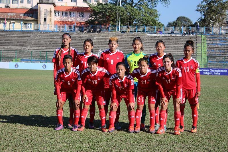 नेपाल समूह विजेता बन्दै सेमिफाइनलमा, श्रीलंकालाई १–० ले हरायो