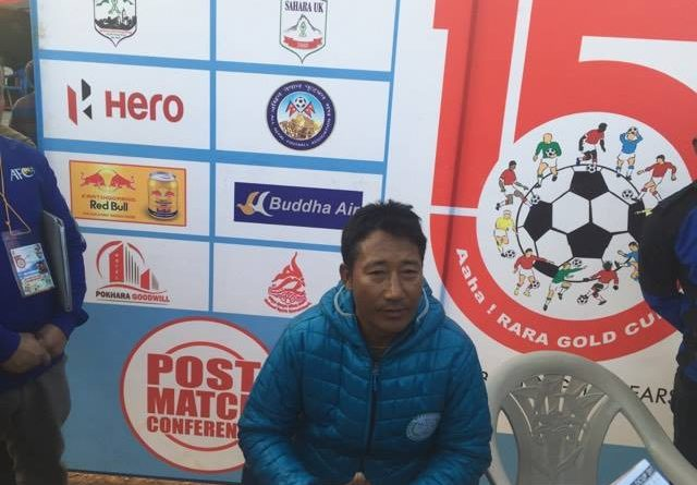 मनाङका प्रशिक्षक छिरिङ लोप्साङ: समयमै गोल निस्केका कारण खेल सहज
