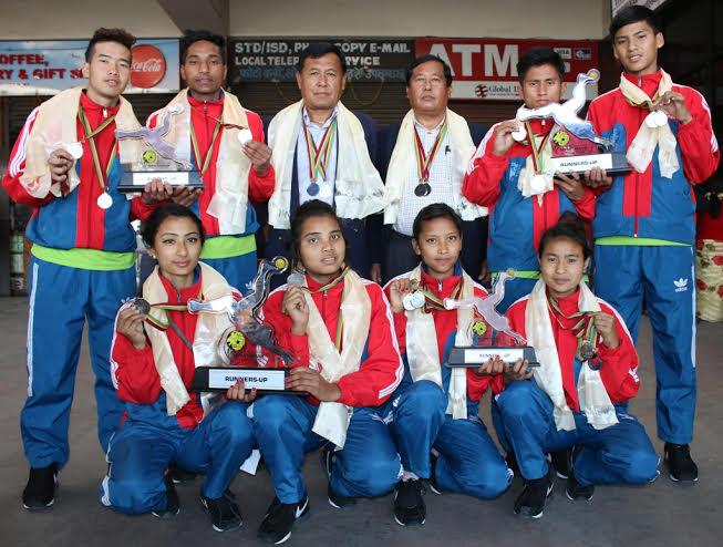 पदक विजेता सेपाकताक्रो टोली स्वदेश फिर्ता