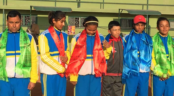 टेनिस च्याम्पियनसिपमा भाग लिन नेपाली टोली थाईल्याण्ड जादै