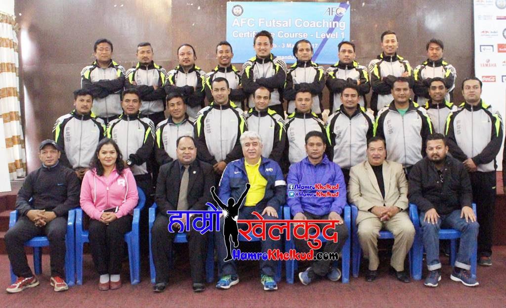 group-photo Futsal Coach