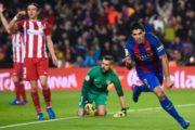 बार्सिलोना कोपा डेल रे को फाइनलमा , स्वारेजले फाइनल खेल्न नपाउने
