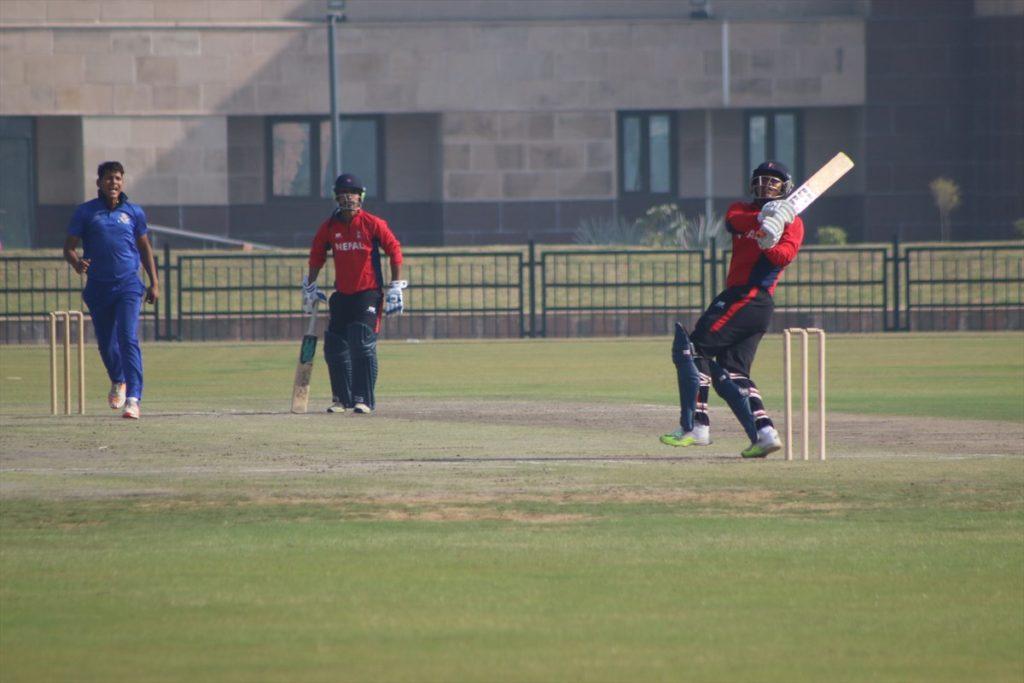 nepal-cricket-national-team-noida-tour-2-3
