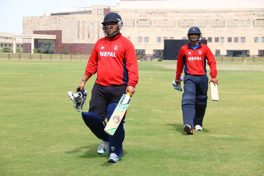 nepal-cricket-national-team-noida-tour-2-7