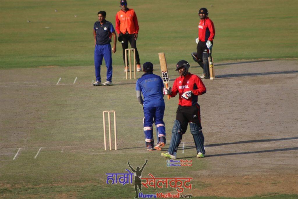 nepal-cricket-team-practice-match-vs-noida-3