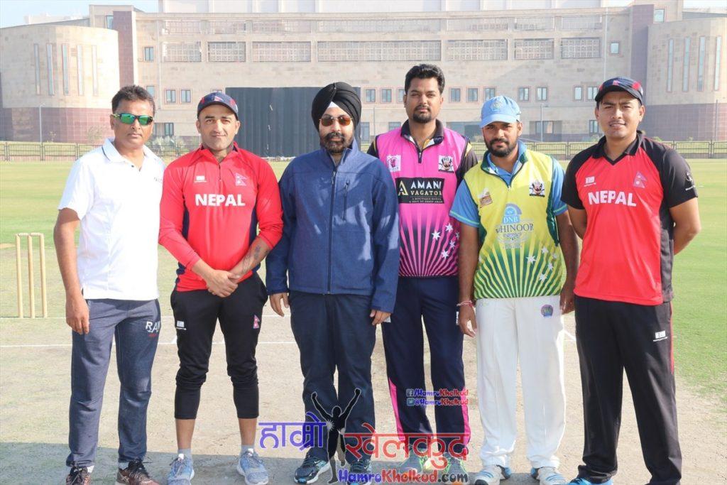 nepal-cricket-team-practice-match-vs-noida-7