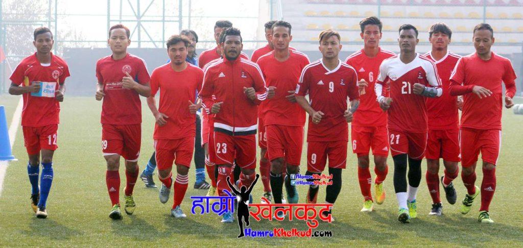 National team Training
