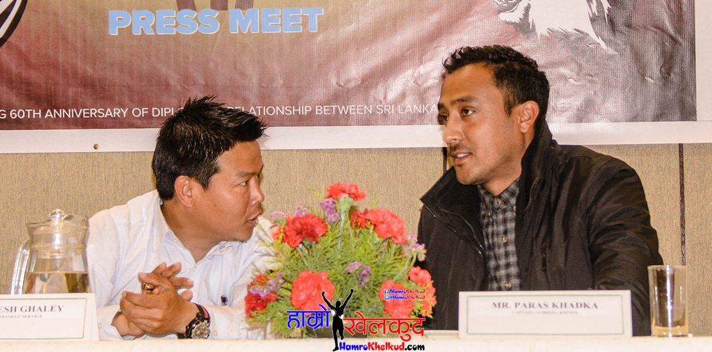 Paras Khadka, Captain of Gorkha Rhinos