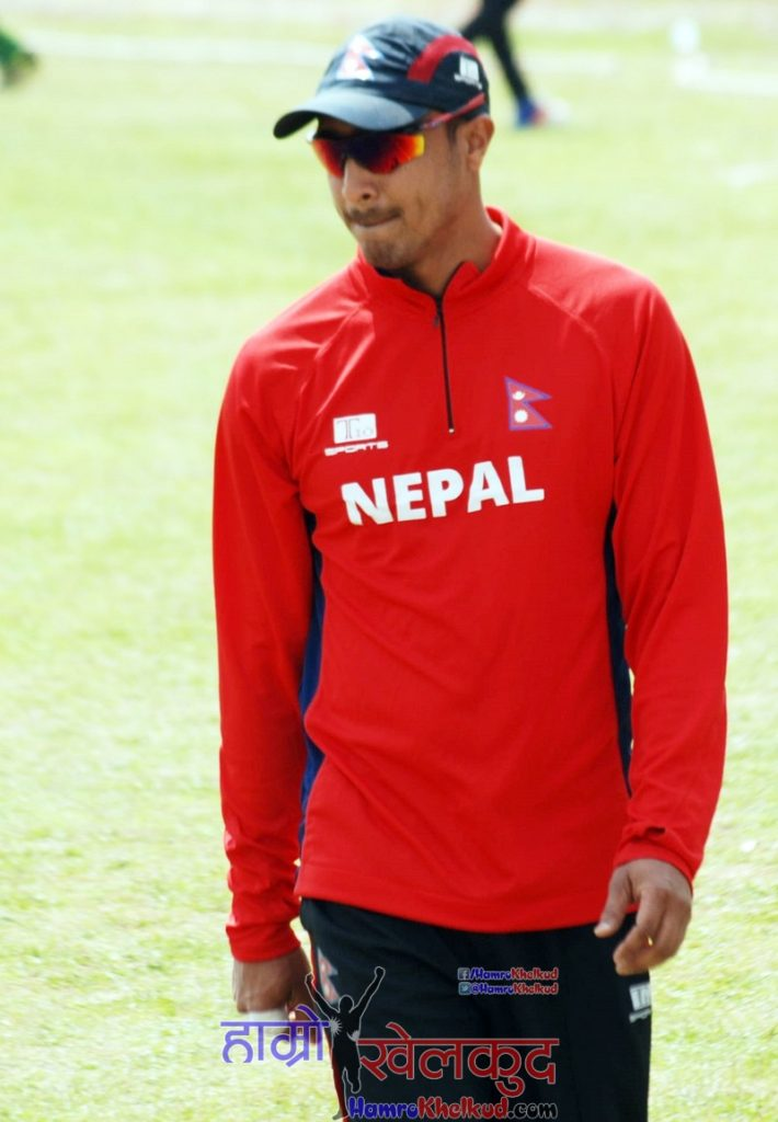 paras-khadka-of-nepal-national-cricket-team-preparing-before-kenya-wclc-14