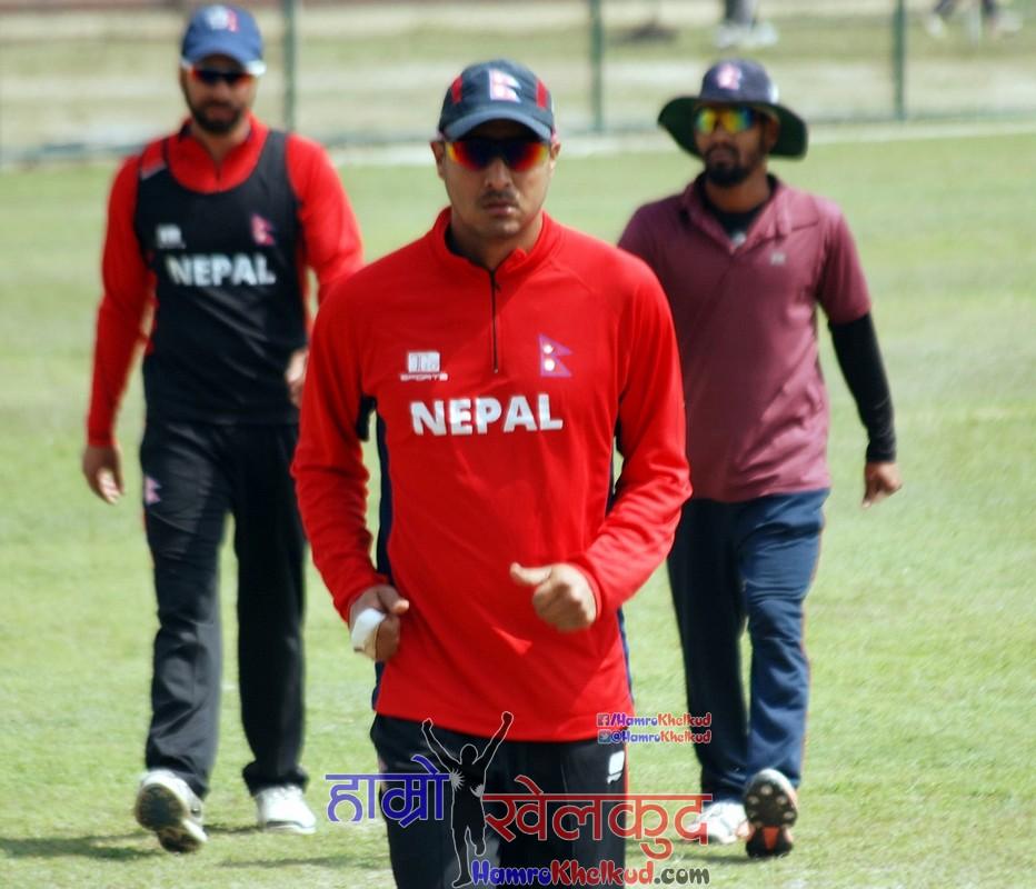 paras-khadka-of-nepal-national-cricket-team-preparing-before-kenya-wclc-15