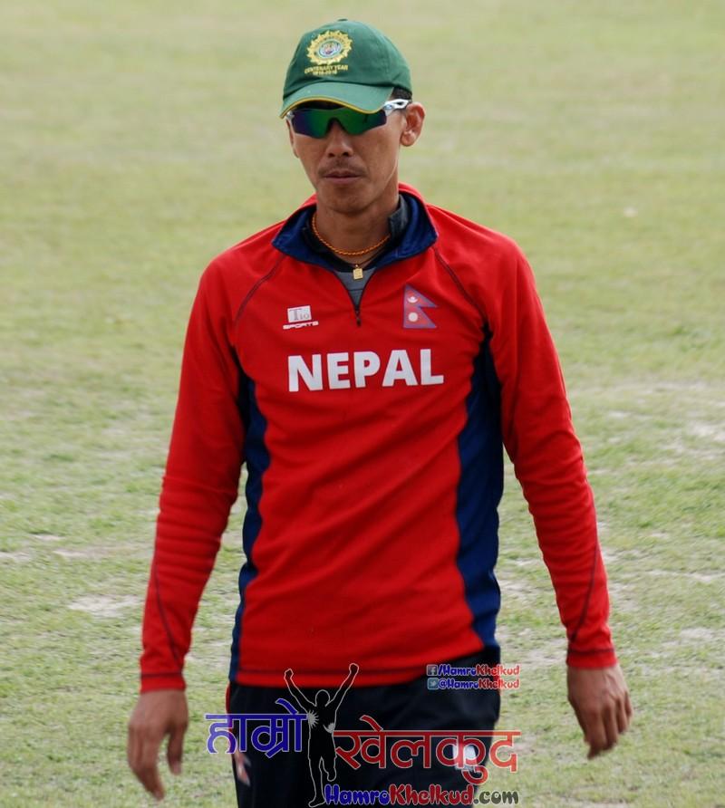 shakti-gauchan-of-nepal-national-cricket-team-preparing-before-kenya-wclc-12