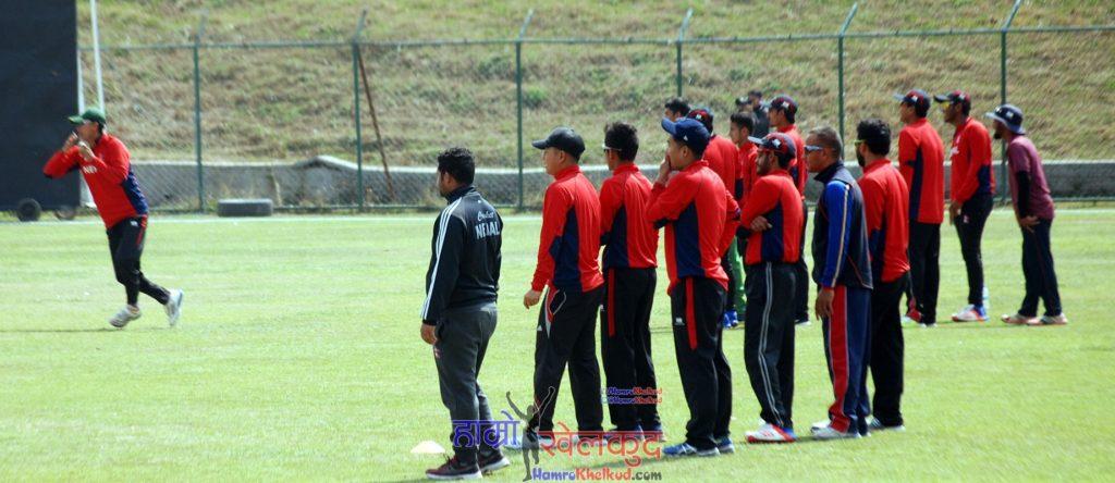 of-nepal-national-cricket-team-preparing-before-kenya-wclc-17