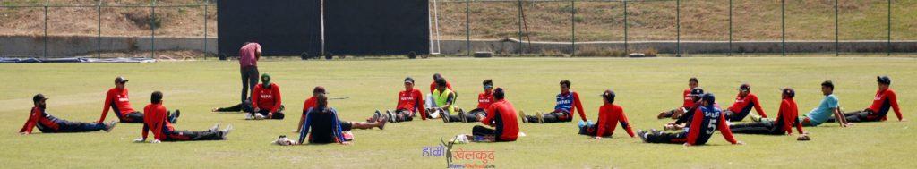 of-nepal-national-cricket-team-preparing-before-kenya-wclc-18