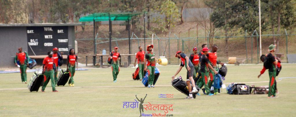 of-nepal-national-cricket-team-preparing-before-kenya-wclc-19