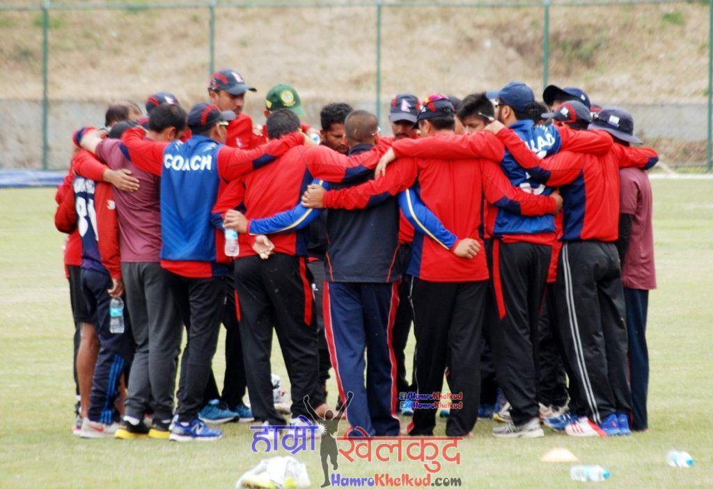 of-nepal-national-cricket-team-preparing-before-kenya-wclc-20