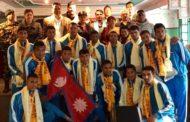 नेपाली भलिबल टोली सेन्ट्रल जोन च्याम्पियनसिपका लागि माल्दिभ्स जाँदै