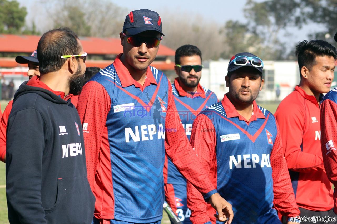 Nepal Cricket Team Paras