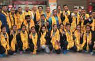 नेपाली कराते टोली थाइल्यान्डबाट फर्कियो
