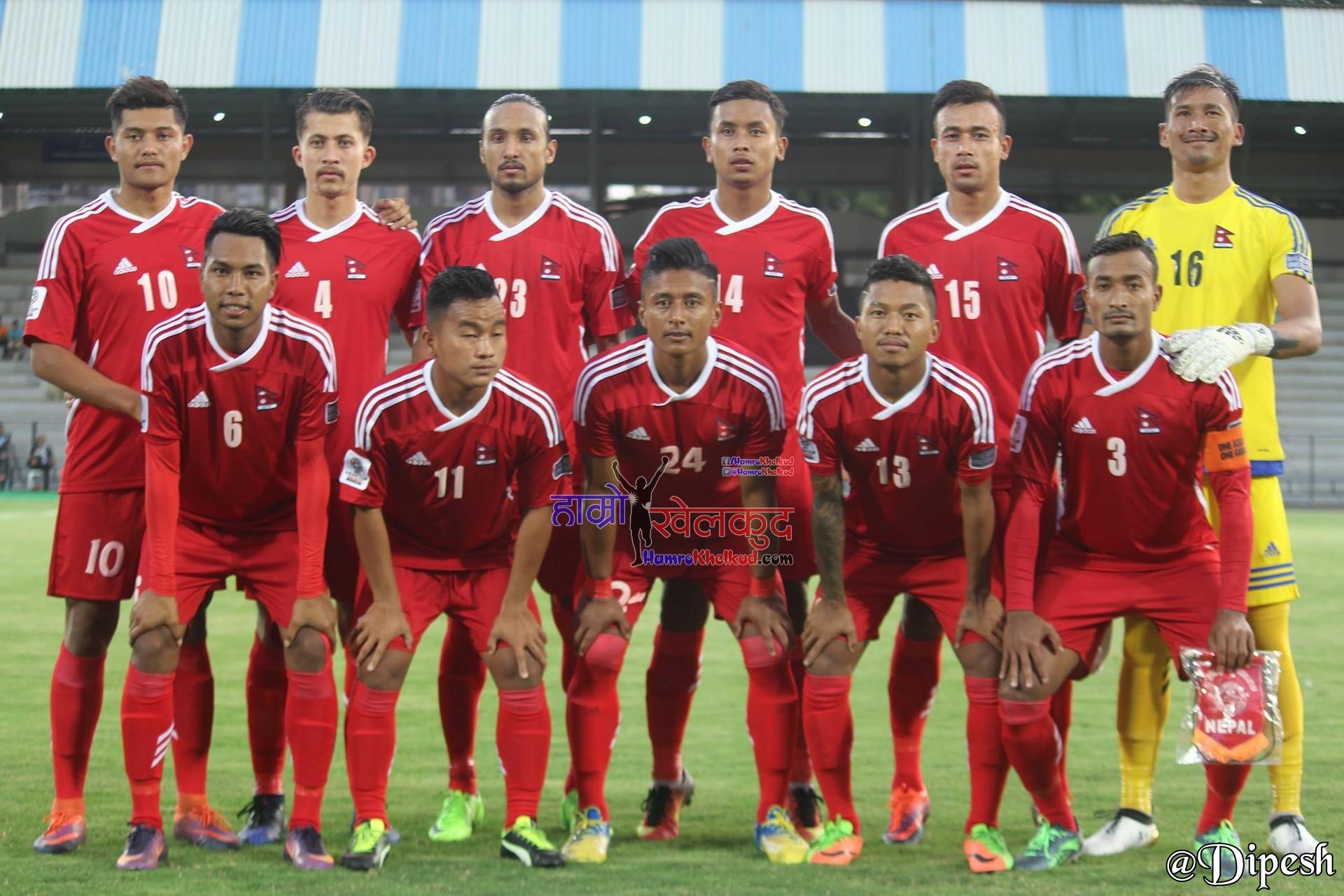Nepal National Football Team vs Indias