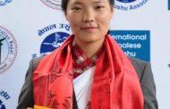 साग स्वर्ण पदक विजेता निमा सम्मानित