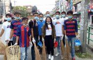 पोखरा सरसफाईमा जुट्यो बार्सा नेपाल