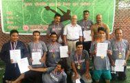 धान दिवस मैत्रीपूर्ण फुटसलमा ए टिम विजयी