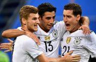 कन्फेडेरेसन कप: पहिलो हाफमा जर्मनीको आग्रता