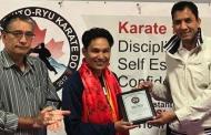 क्यानाडामा सागका दोहोरो स्वर्ण पदक विजेता श्रेष्ठ सम्मानित