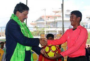 minister futsal