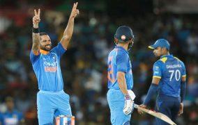 पहिलो खेलमा भारतसँग श्रीलंका ९ विकेटले पराजित