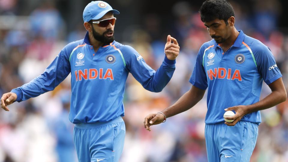 Kohli and Bumrah