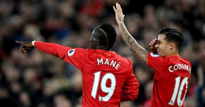 Mane and Coutinho