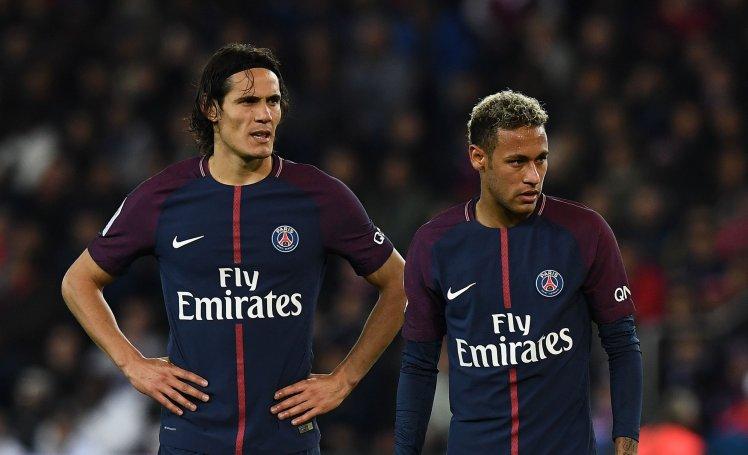 Paris Saint-Germain's Uruguayan forward