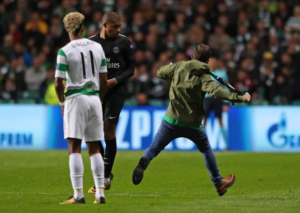 mbappe kick