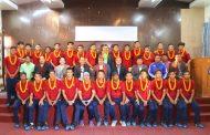 यू–१८ फुटबल टोलीको बिदाई : टोली शनिबार भुटान जाने