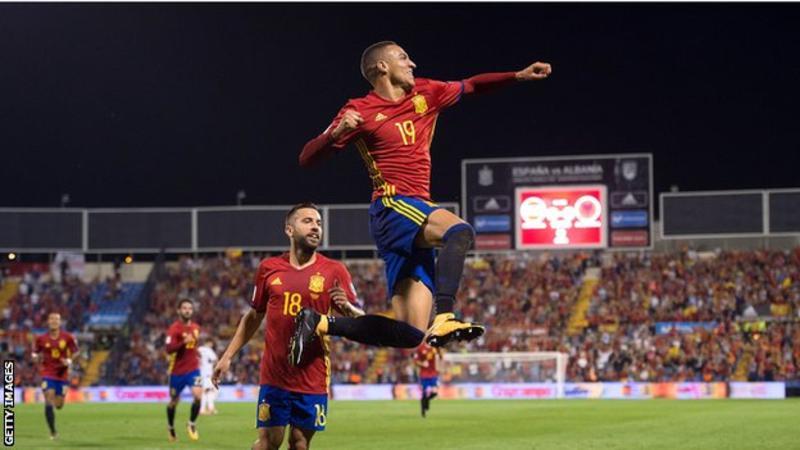 Spain vs albania
