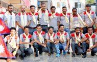 नेपाली क्रिकेट टोली हङकङ पुग्यो