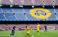 दर्शकबिना खेलिएको खेलमा बार्सिलोना विजयी