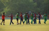 नेपाल र बंगलादेशबीच दोस्रो अभ्यास खेल सुरु