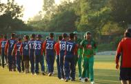 तेस्रो अभ्यास खेलमा नेपालसँग बंगलादेश पराजित
