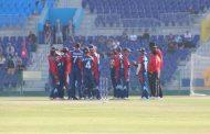 सोमपालको ५ विकेट, युएईद्वारा नेपाललाई १ सय ९६ रनको लक्ष्य