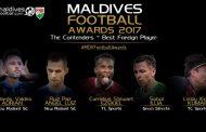 माल्दिभ्समा किरण उत्कृष्ट विदेशी खेलाडीको मनोनयनमा