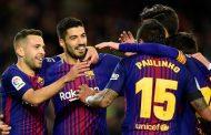बार्सिलोनाको जितमा स्वारेज र पौलिन्होको दुईदुई गोल