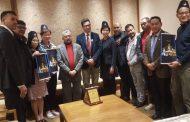 नेपाल र हङकङ भलिबल संघबीच भेटवार्ता