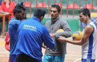 सेन्ट्रल जोन भलिबलमा नेपालको पहिलो खेल बंगलादेशसँग