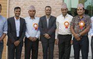 राष्ट्रिय क्रिकेट टोलीका सात कप्तान सम्मानित